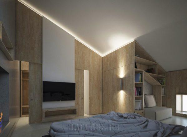 интерьер современной комнаты