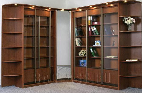 шкаф для книг от произволителя