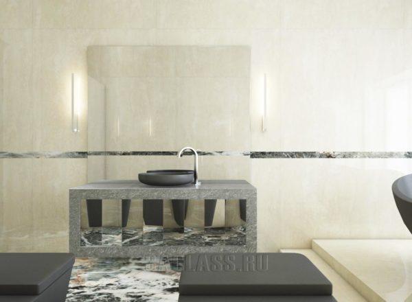 дизайнерская ванная комната премиум класса