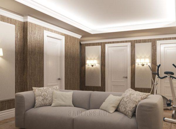 дизайн проект интерьера домика