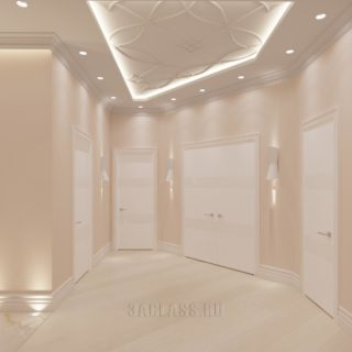 розовый коридор