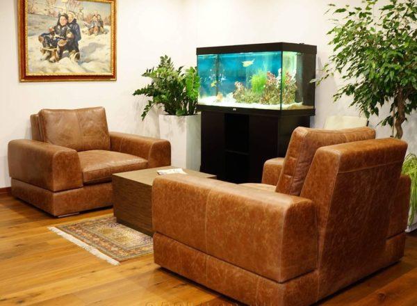 большое мягкое кресло на заказ по индивидуальным проектам в Москве от мебельного ателье ААА-Классика