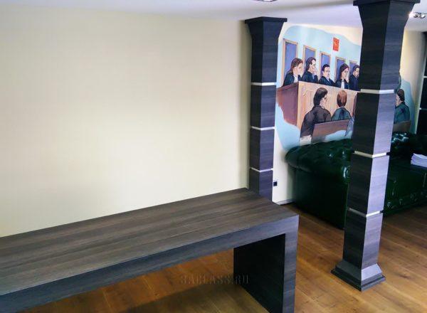Стильный стол для переговоров