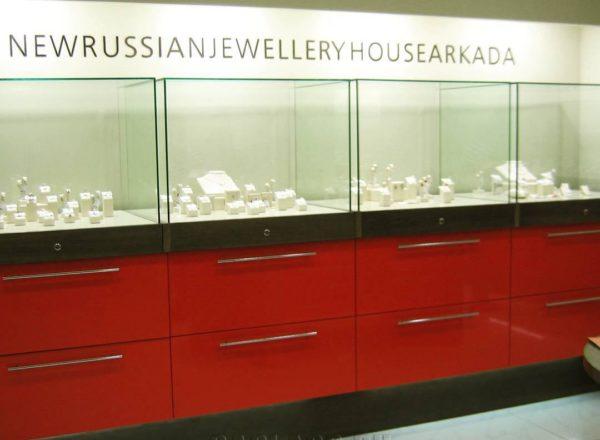 Витрины для ювелирного магазина