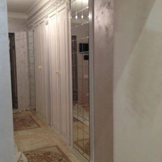 Встроенный шкаф по индивидуальным размерам
