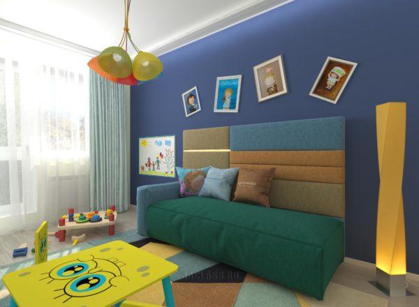 оригинальная детская комната