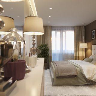 Мебель в спальню на заказ по индивидуальным проектам в Москве от мебельного ателье ААА-Классика
