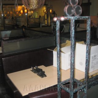 Основа мебели для ресторана