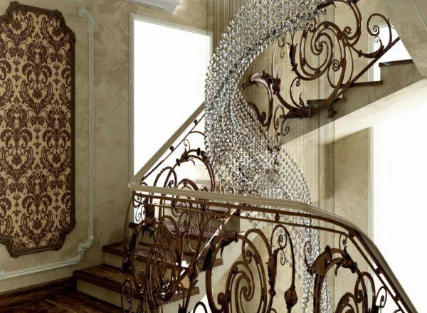 роскошная лестница