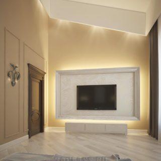 Спальня с ТВ зоной