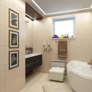 Ванная в дом
