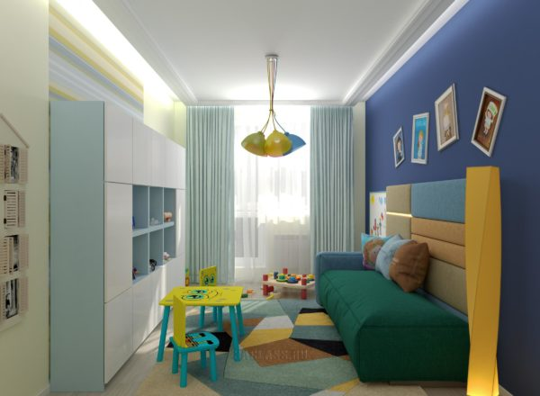 Яркая комната для ребенка
