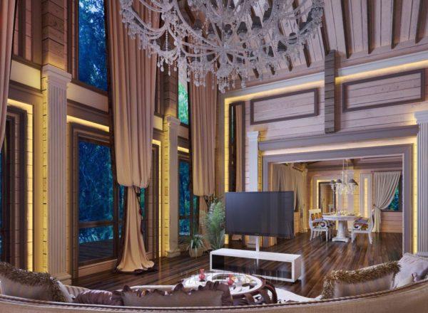 мебель и дизайн в особняк
