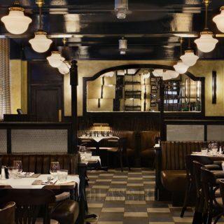 Классический дизайн ресторана