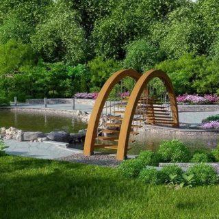 Ландшафтный дизайн - водоем