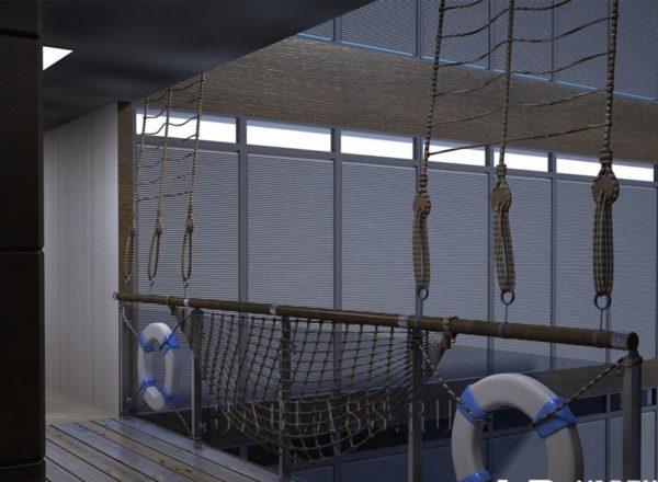 Морское оформление офиса