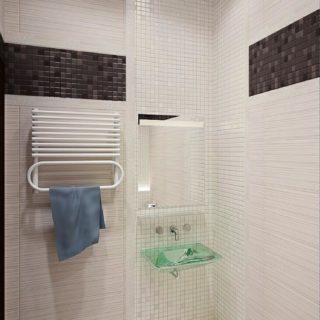 Необычная ванная в особняке