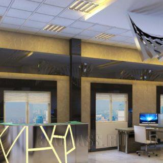 оригинальный дизайн офиса