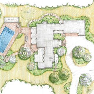 Схема ландшафта