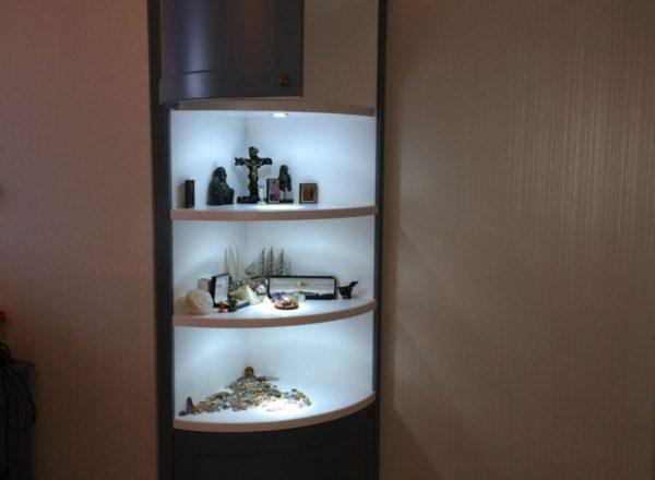 изготовление шкафа-пенала на заказ по индивидуальному проекту от мебельного ателье ААА-Классика в Москве