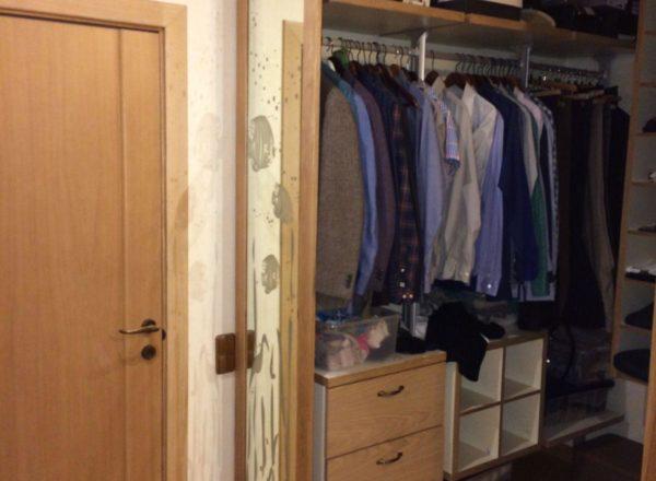 шкаф-гардероб на заказ по индивидуальному проекту: внутреннее наполнение