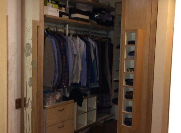 изготовление гардеробного шкафа на заказ в Москве: внутренне наполнение