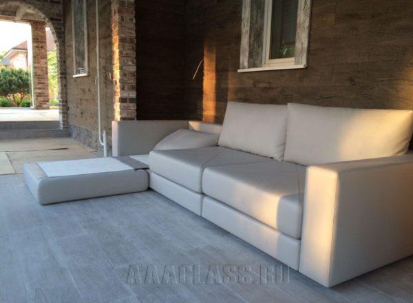 диван трансформер бежевый на заказ по индивидуальным размерам в Москве