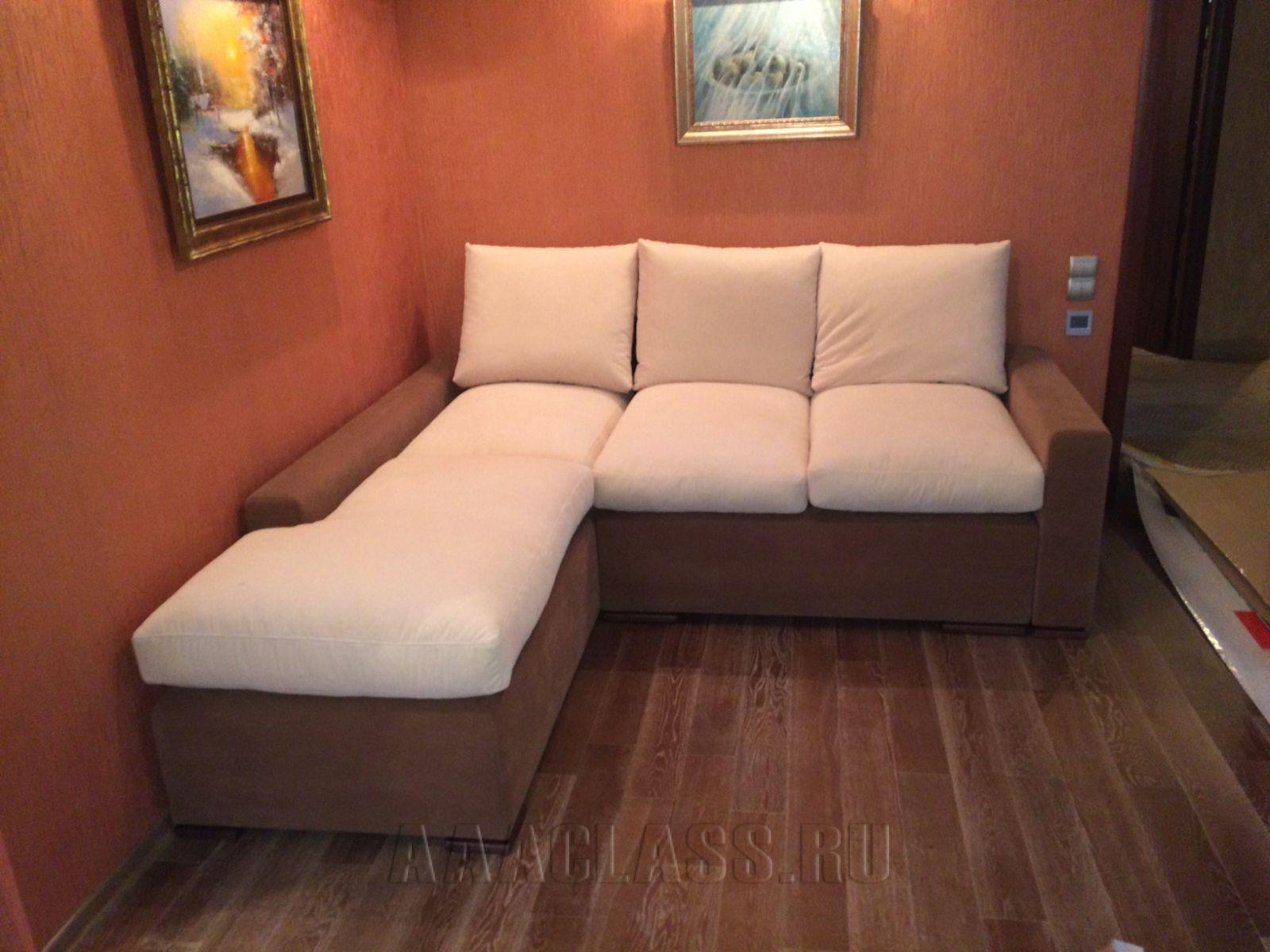 тканевой диван на заказ по индивидуальным размерам в Москве