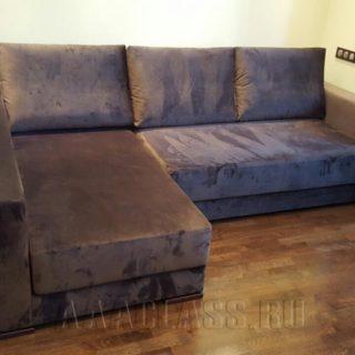 угловой тканевой модульный диван БАЛИ на заказ по индивидуальным параметрам