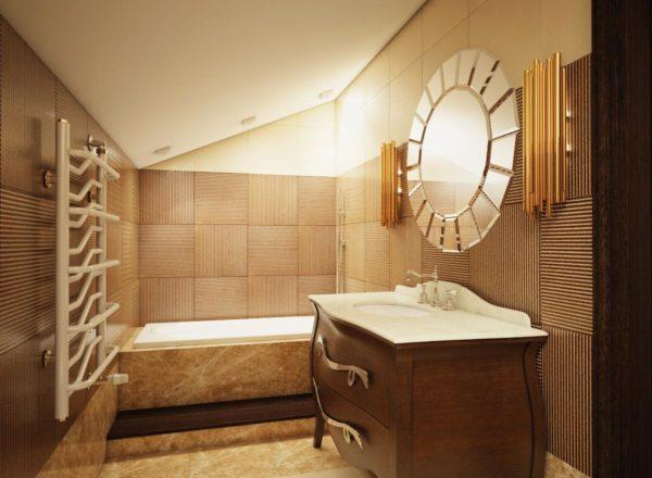 элитная меблировка ванной
