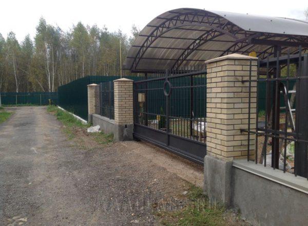 кованые ворота на заказ по индивидуальным параметрам в Москве от мебельного ателье ААА-Классика