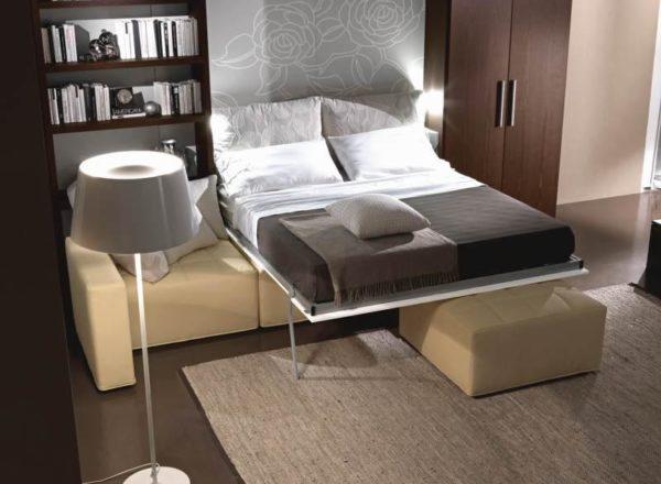мобильная мебель в спальню на заказ в Москве
