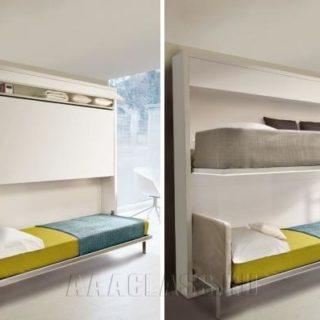 двухуровневая кровать трансформер на заказ в Москве