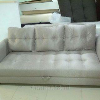 тканевой диван со стяжкой