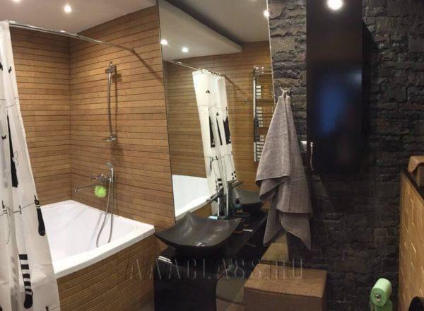 деревянная ванная комната на заказ от мебельного ателье ААА-Классика