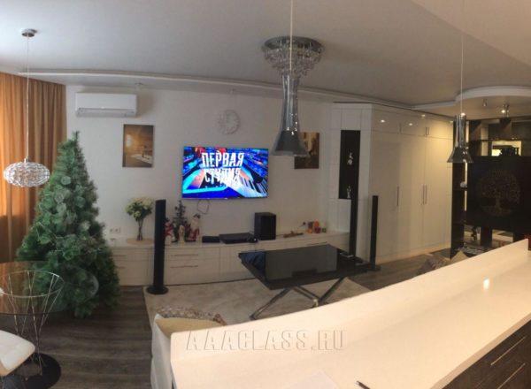 мебель в кухню-гостиную на заказ от мебельного ателье ААА-Классика