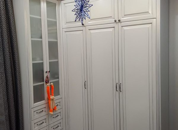 белый шкаф из мдф
