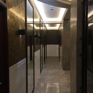 Изготовление встроенного шкафа на заказ по индивидуальному проекту ЖК