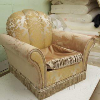 Изготовление кресла на заказ по индивидуальным размерам от мебельного ателье ААА-Классика