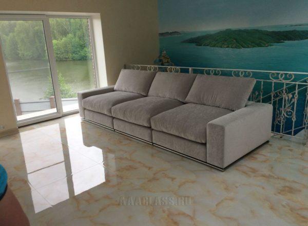 Модульный диван на заказ по индивидуальному дизайну от мебельного ателье ААА-Классика