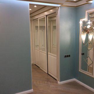 входные двери из МДФ с патиной на заказ от мебельного ателье ААА-Классика