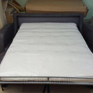 изготовление нестандартного дивана МИЛАН по индивидуальному проекту с локотниками и механизмом трансформации итальянская раскладушка от мебельного ателье ААА-Классика