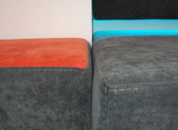 Мягкие подоконники на заказ от мебельного ателье ААА-Классика для офиса компании 1С-Битрикс