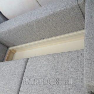 модульный угловой диван на заказ по индивидуальным размерам в мебельном ателье в Москве