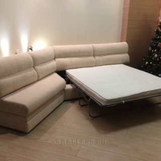 модульный диван на заказ с механизмом итальянская раскладушка