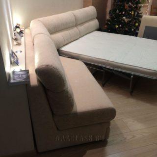 угловой диван на заказ с механизмом итальянская раскладушка