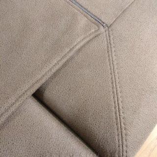 обивка небольшого дивана со спальным местом
