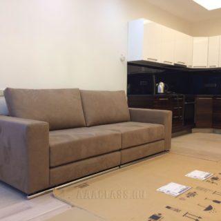 малогабаритный диван со спальным местом по индивидуальным размерам