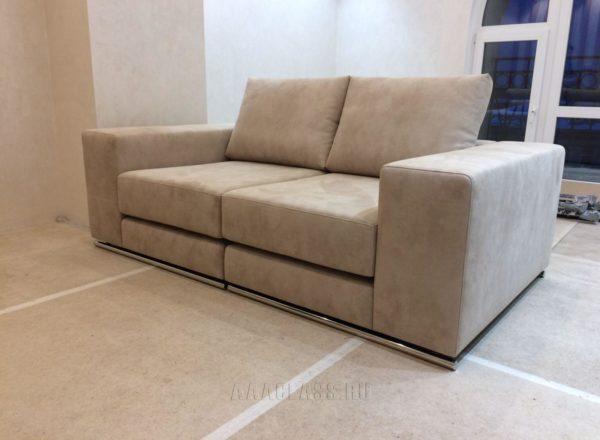 раскладной диван на заказ в кабинет дома по индивидуальному размеру в Москве