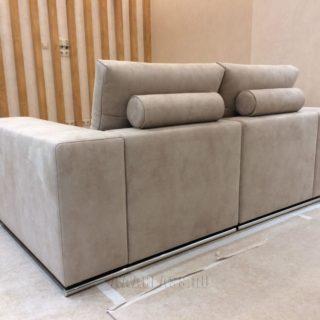 диван по индивидуальному проекту - раскладной модульный для кабинета руководителя
